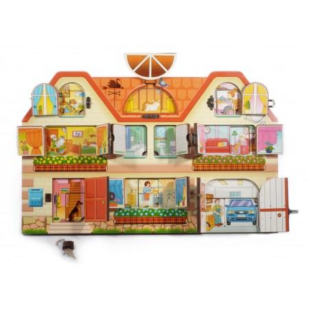 "BusyBoard. ""Дом, в котором мы живем"" арт.8008 (48х30, дерево)"