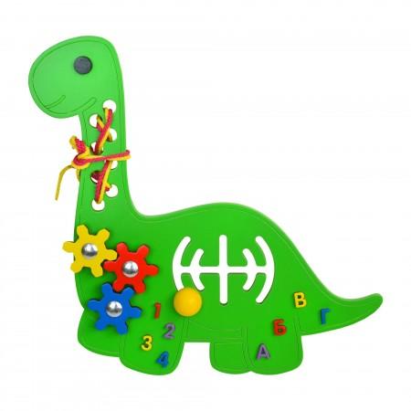 Бизиборд «Динозавр»  20х30 см