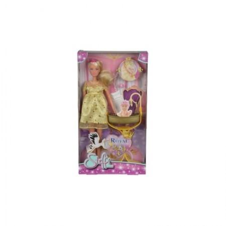 Steffi.5737084 Кукла Штеффи беременная, королевский набор, 29 см 6/36