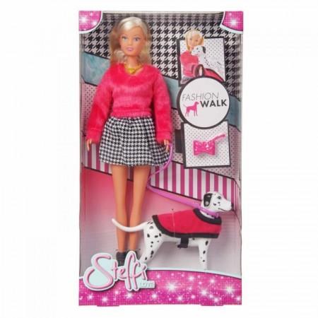 Steffi.5738053 Кукла Штеффи на прогулке с далматинцем 29 см 6/36