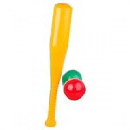 Бейсбольная бита и 2 шара