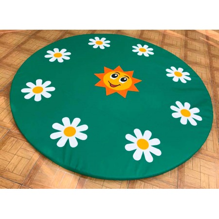 Мат цветочная поляна
