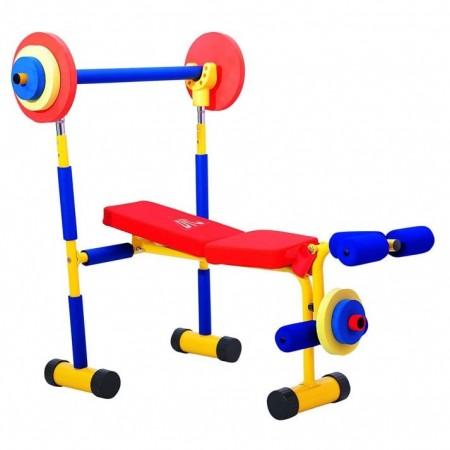 Детский тренажер скамья для жима