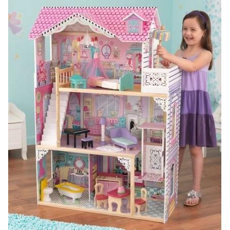 """Трехэтажный дом для Барби """"Аннабель"""" с мебелью"""