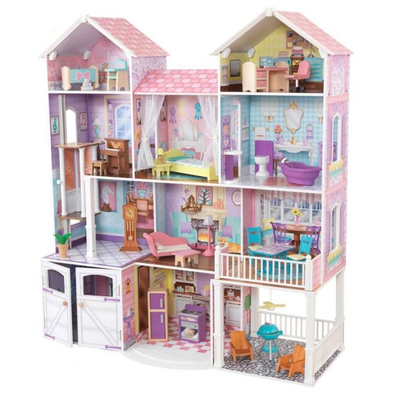 """Дом для кукол """"Загородная усадьба"""" с мебелью"""