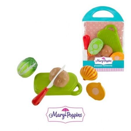 """Mary Poppins. 453042 Набор для резки """"Овощи"""" 3 шт в ас-те /50"""