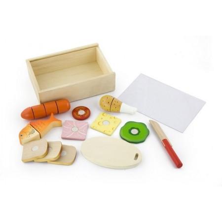 """VIGA. 50260 Набор """"Продукты""""10 предметов,в ящике"""