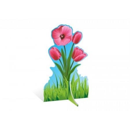 """Декорация для праздников """"Тюльпан красный"""""""