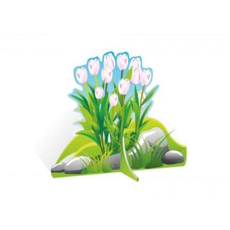 """Декорация для утренников """"Белые тюльпаны"""""""