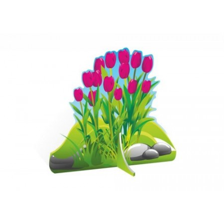 """Декорация для детского сада """"Розовые тюльпаны"""""""