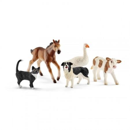 """Игровой набор """"Животные фермы"""", 5 фигурок"""