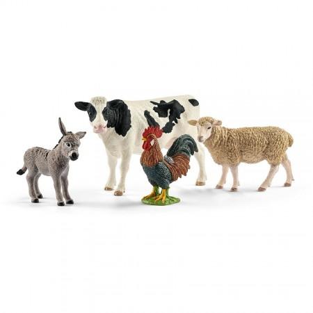 """Набор из 4 фигурок """"Животные фермы"""""""
