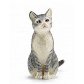 Фигурка сидящей кошки